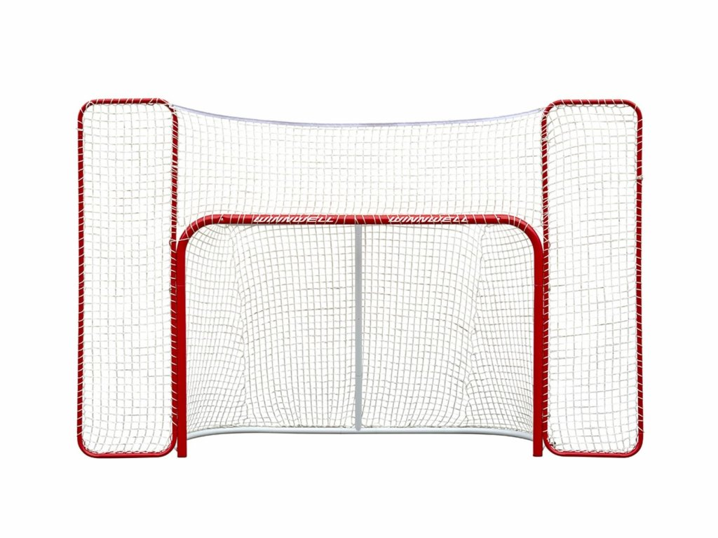 """Hokejová branka Winnwell Pro Form 72"""" s postranními sítěmi"""