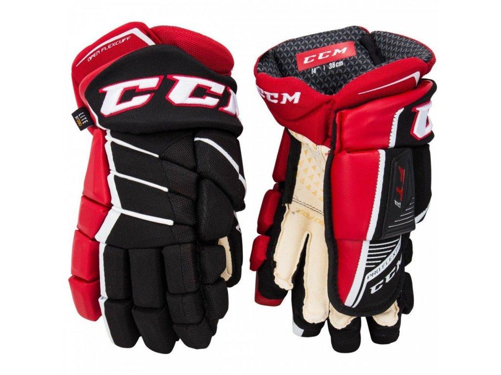 Dětské hokejové rukavice CCM Jetspeed FT1 YTH