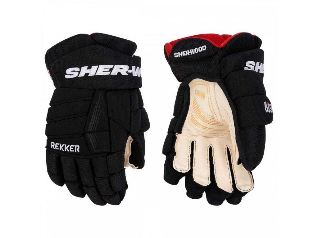 Hokejové rukavice Sher-Wood Rekker M90 SR
