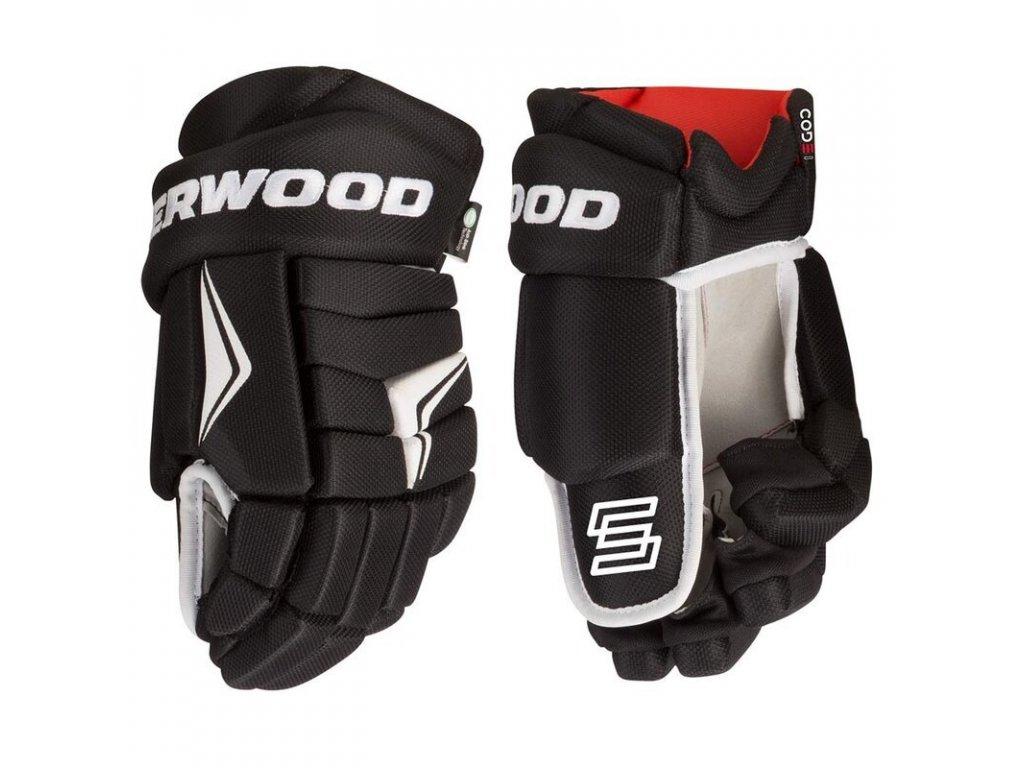Dětské hokejové rukavice Sher-wood Code I YTH