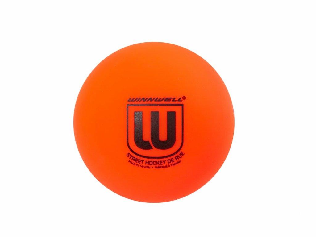 Hokejbalový míček Winnwell (plněný) (Barva červená, Tvrdost Hard (tvrdý), Výrobce Winnwell)