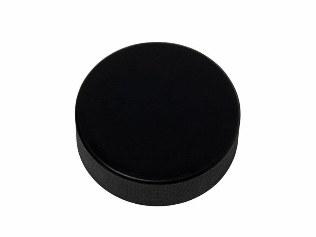 Měkký černý hokejový puk