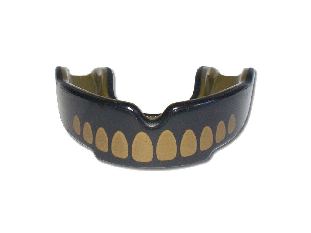 Chránič zubů Safe Jawz Extro Series Goldie (Varianta senior, Výrobce Safe Jawz, Příchuť Bez příchuti)