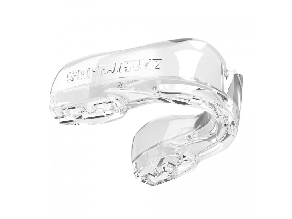 Chránič zubů Safe Jawz Intro Series Clear (Varianta senior, Výrobce Safe Jawz, Příchuť Bez příchuti)