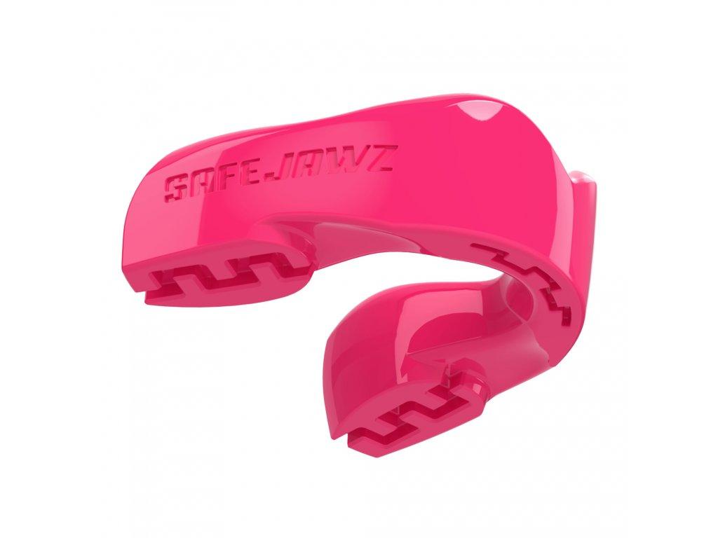 Chránič zubů Safe Jawz Intro Series Pink (Varianta senior, Výrobce Safe Jawz, Příchuť Bez příchuti)
