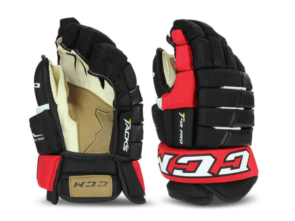 juniorské hokejové rukavice CCM Tacks 4R Pro JR