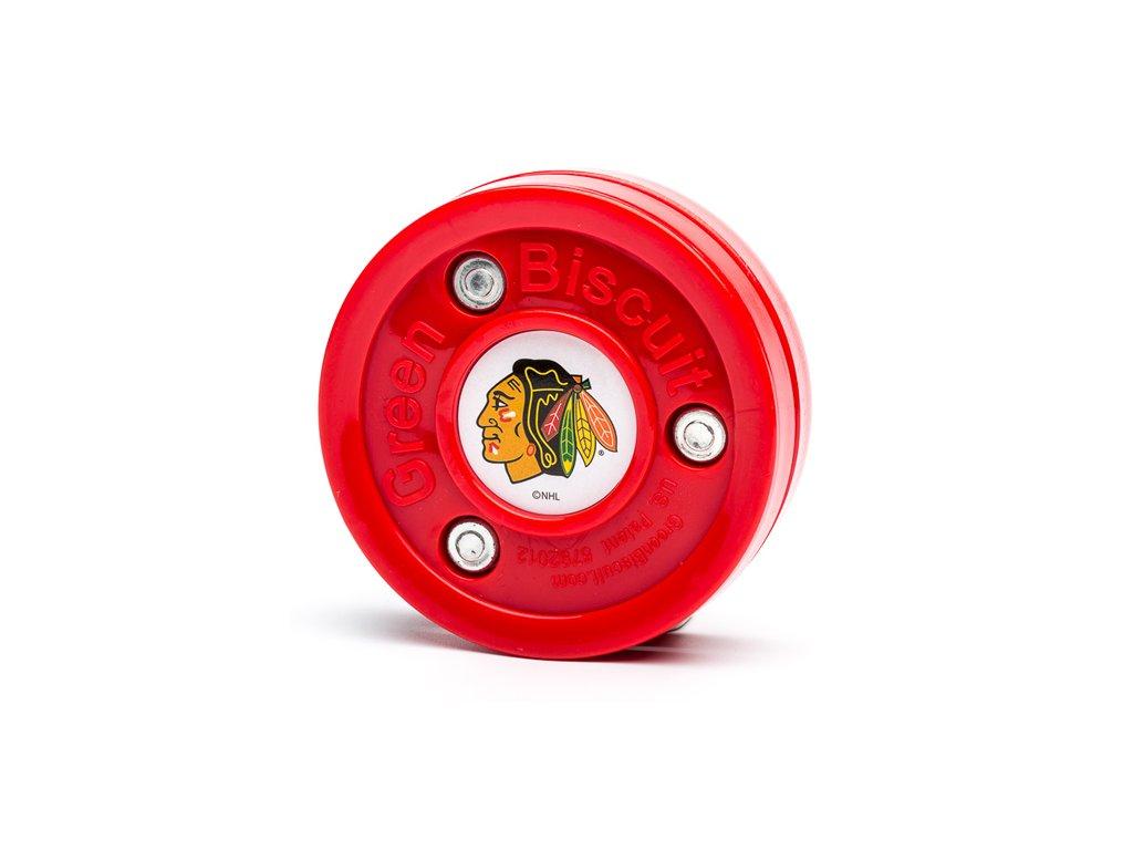 Puk Green Biscuit™ (NHL Chicago Blackhawks)
