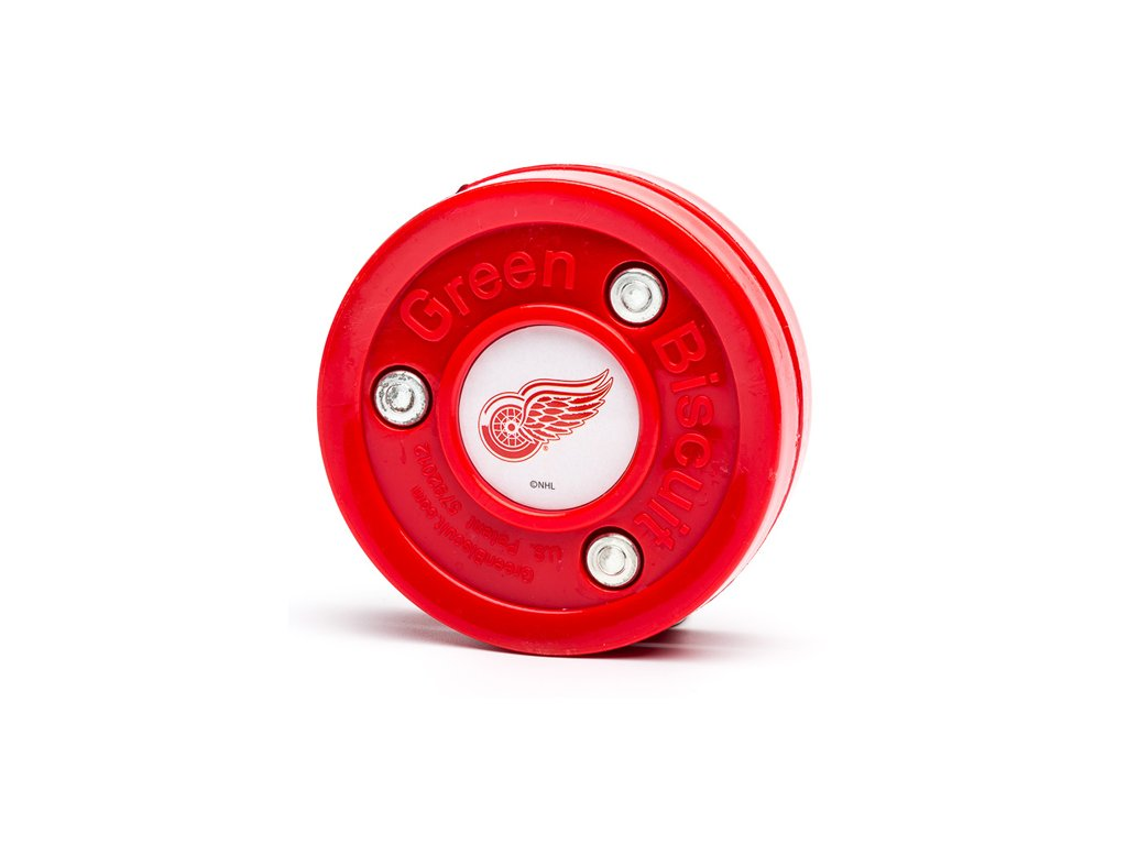 Puk Green Biscuit™ (NHL Detroit Red Wings)Detroit