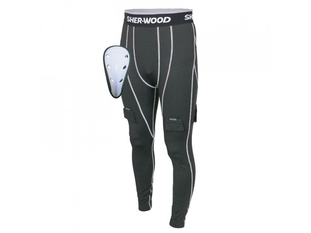 Kalhoty se suspenzorem Sher-Wood Comp Jock SR (Velikost S, Varianta senior, Výrobce Sher-Wood)