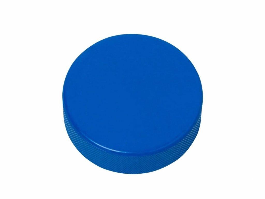 Lehký modrý puk na hokej