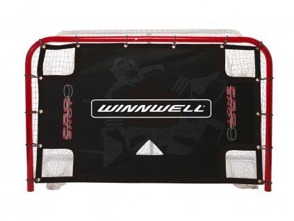 """Střelecká plachta na hokejovou branku Winnwell Accushot 72"""" Pro Shot s lapači puků"""