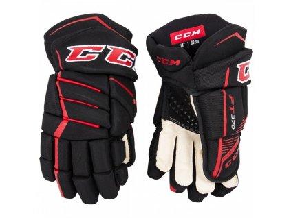 Hokejové rukavice CCM Jetspeed FT370 SR