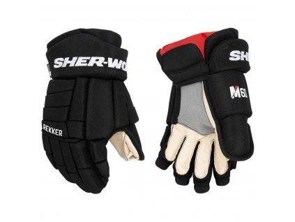 Dětské hokejové rukavice Sher-Wood Rekker M60 YTH