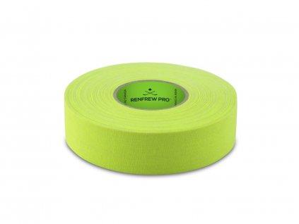 Svítivě žlutá páska na hokejku