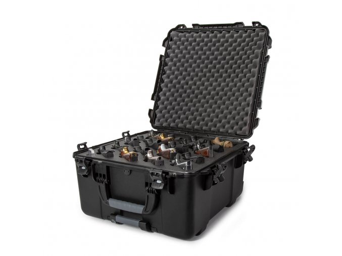 nanuk firearms 968 20up pistol case black open top