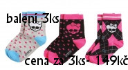 Dětské ponožky, punčocháče
