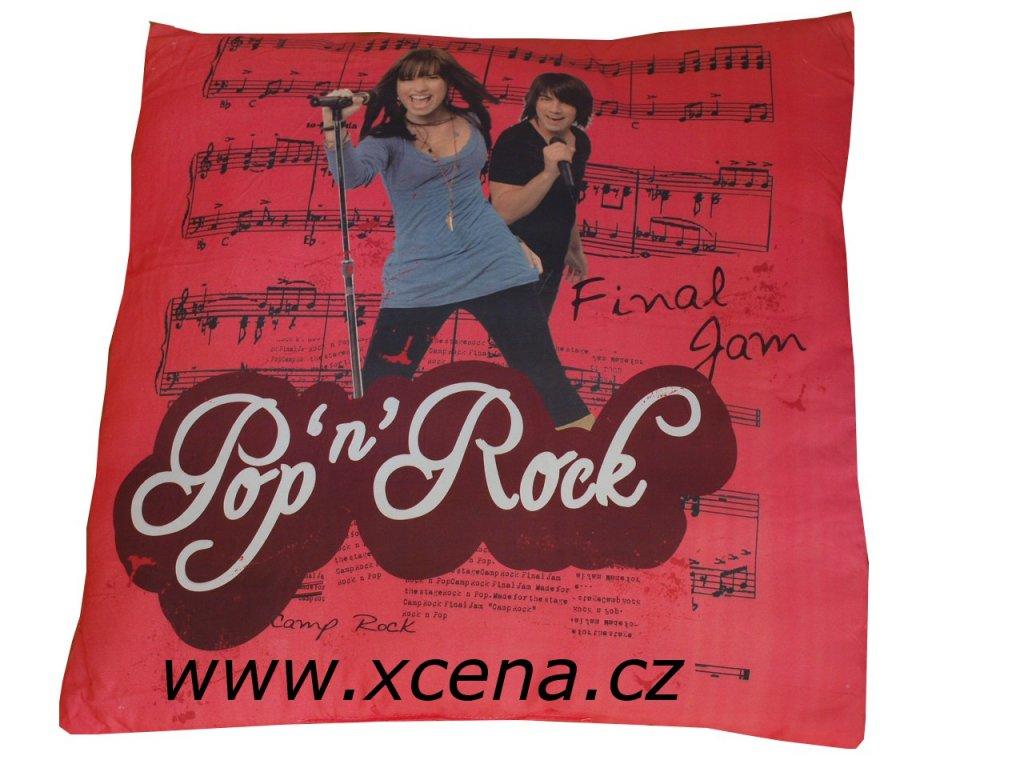 Polštář disney pop rock 35x35cm