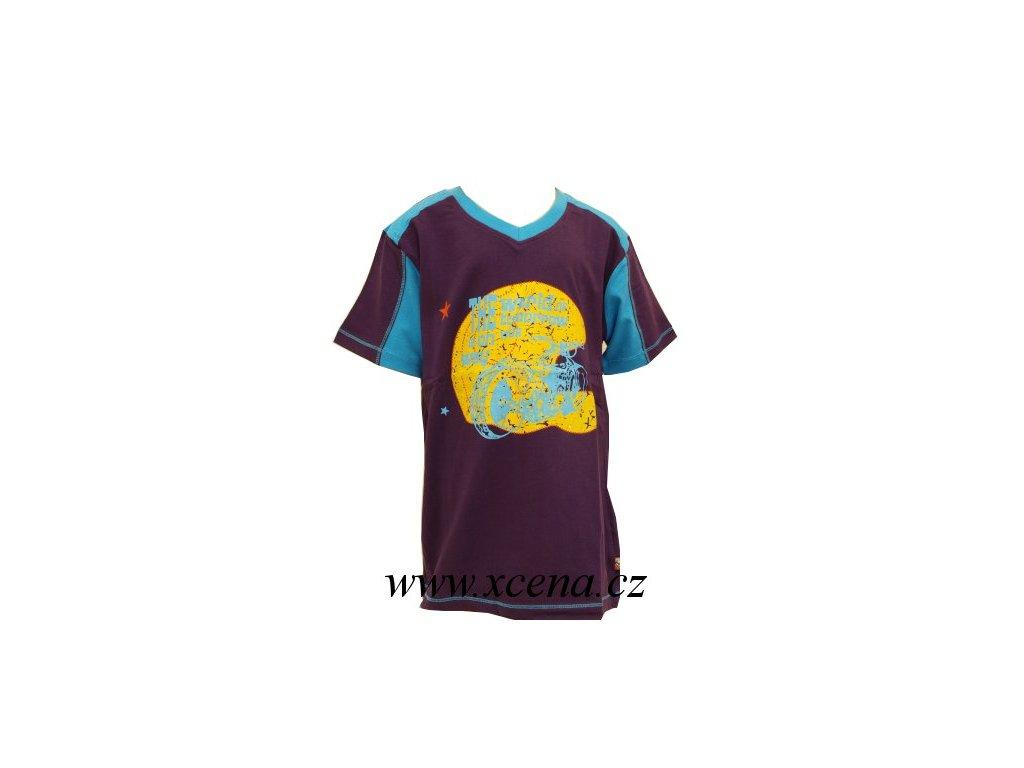 Chlapecké trička fialové