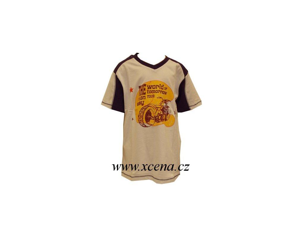 Chlapecké tričko bílé typ A