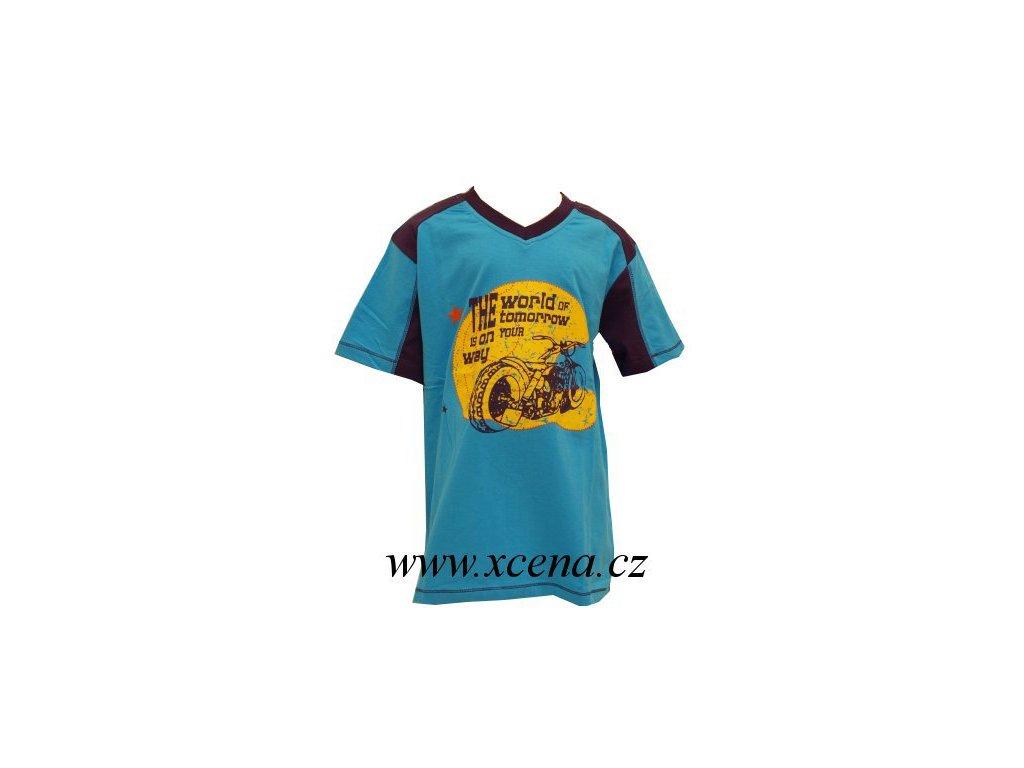 Chlapecké tričko modré