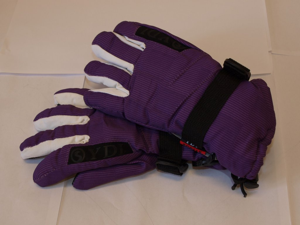 Dětské rukavice světle fialové