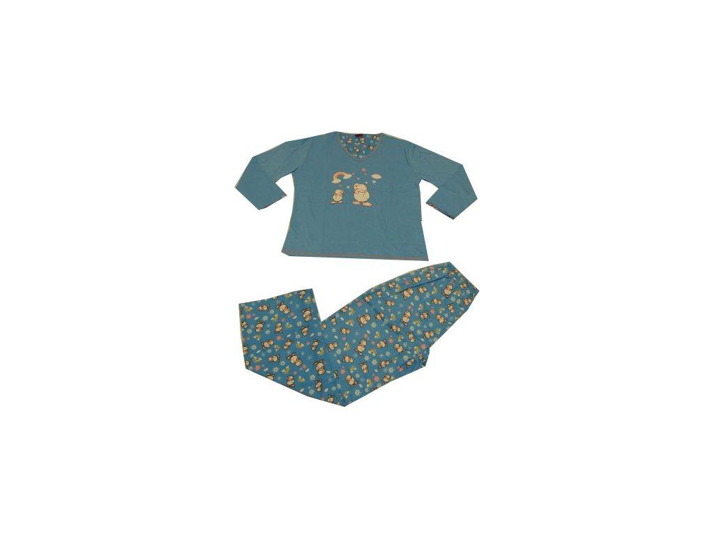 Dětské pyžamo modré barvy