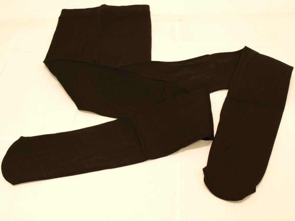 Dámské legíny s ťapkami černé
