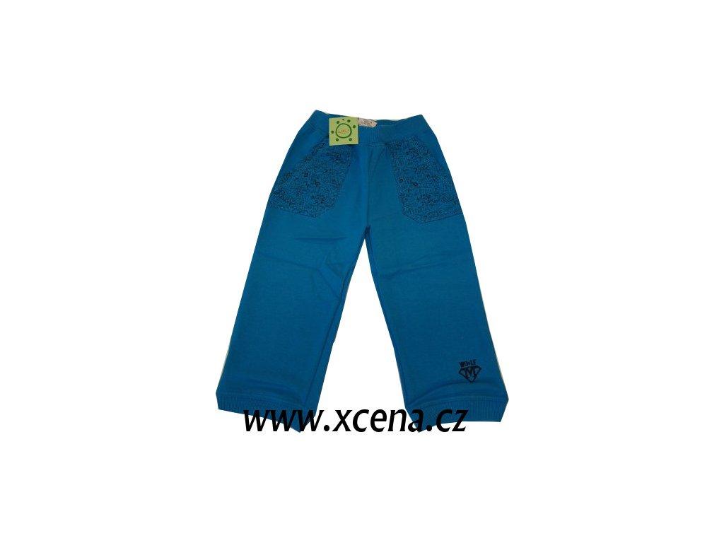 Tepláky dětské modré