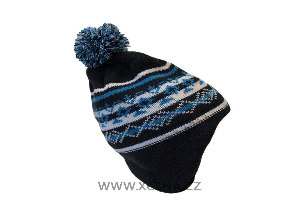 Zimní čepice podšitá fleesem