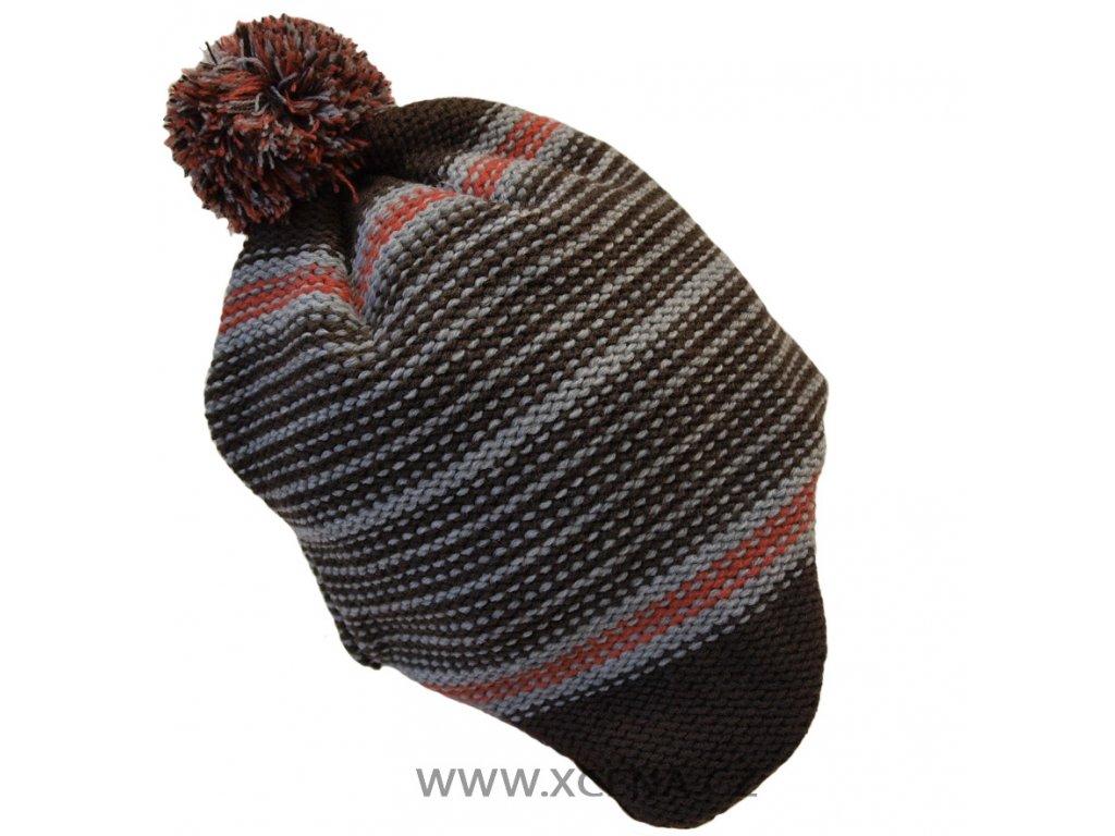 Chlapecká zimní čepice, podšitá fleecem