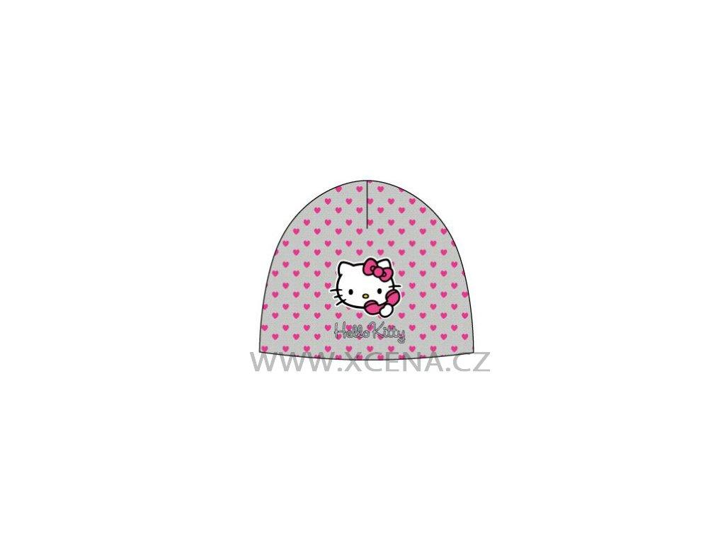 Hello Kitty čepice šedá typ A