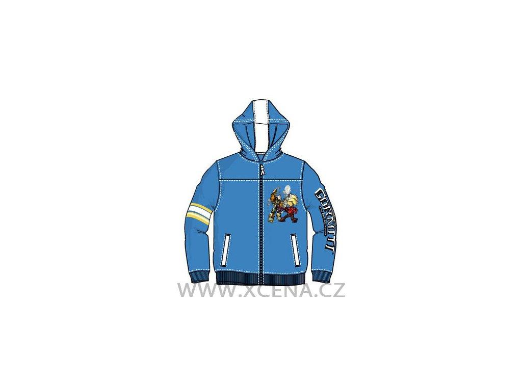 Gormiti mikina modrá