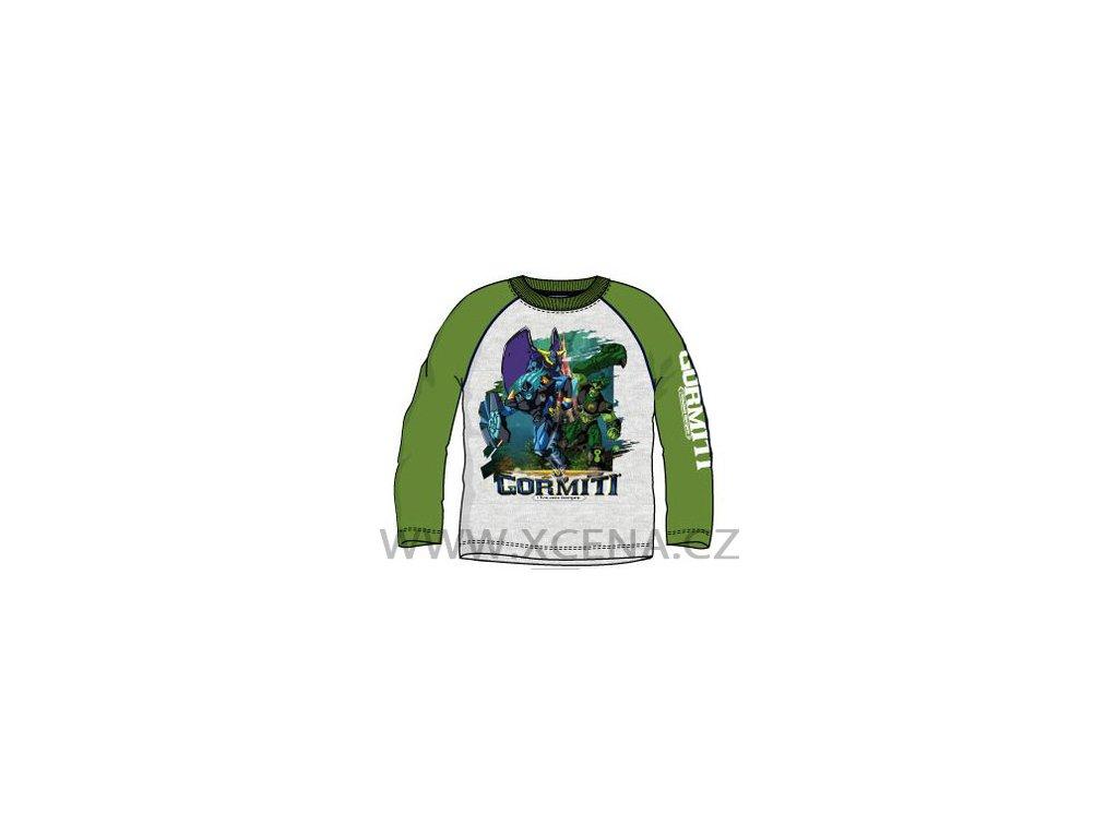 Gormiti triko zelené typ A1