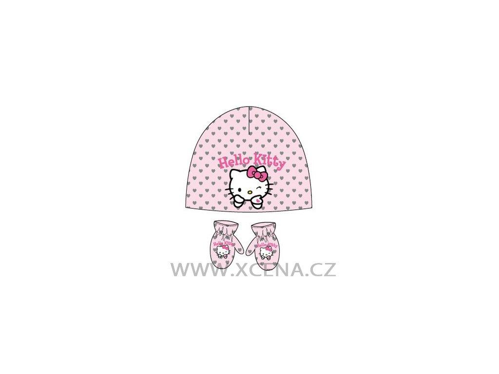 Hello Kitty čepice rukavice