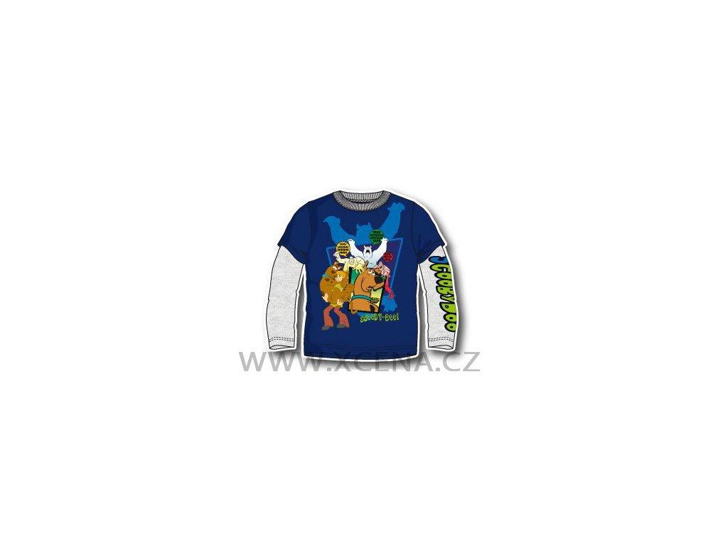 Scooby doo trička modré