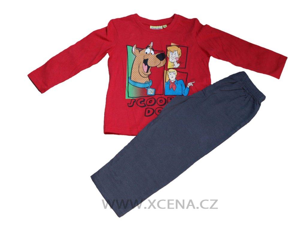 Scooby doo pyžamo červené typ A1