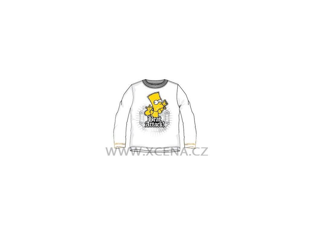 Bart Simpson tričko bílé
