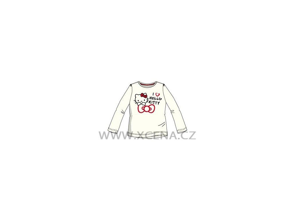 Hello Kitty trička smetanové