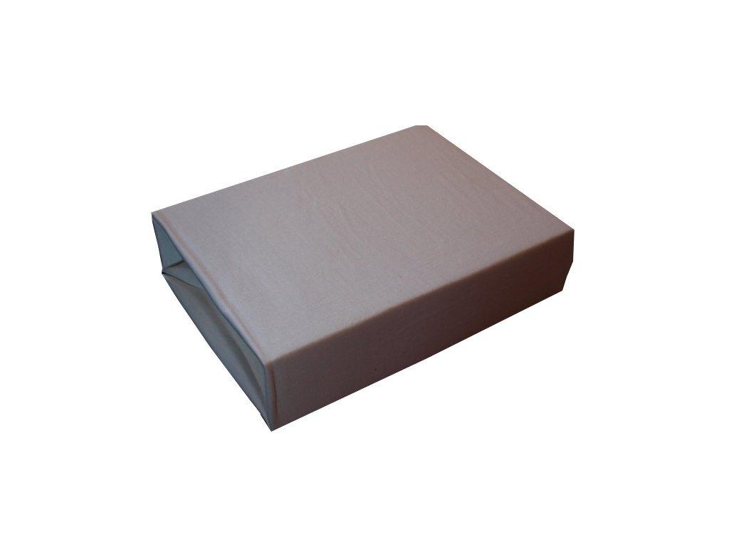 Bavlněné prostěradlo bílé  200/220 cm