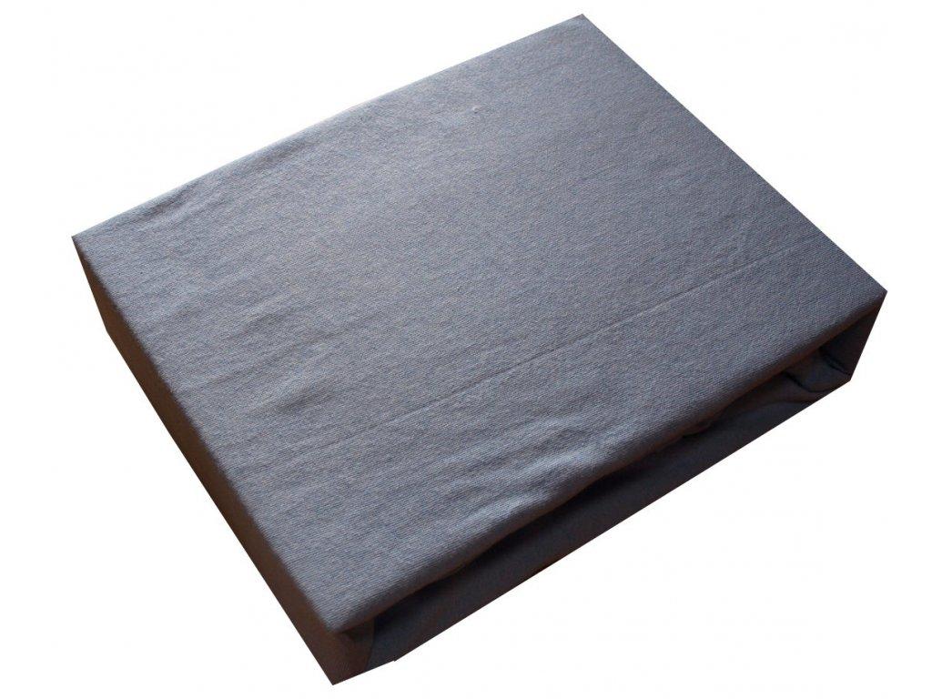 Bavlněné napínací prostěradla 200/220 cm