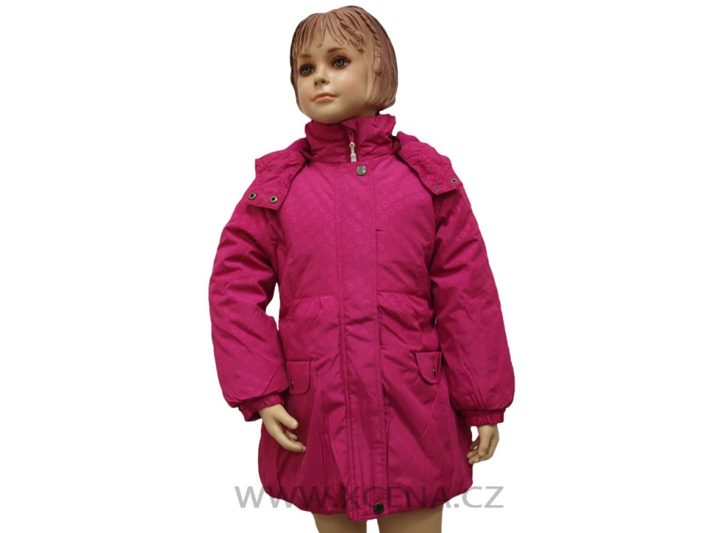 Dívčí bundy růžové