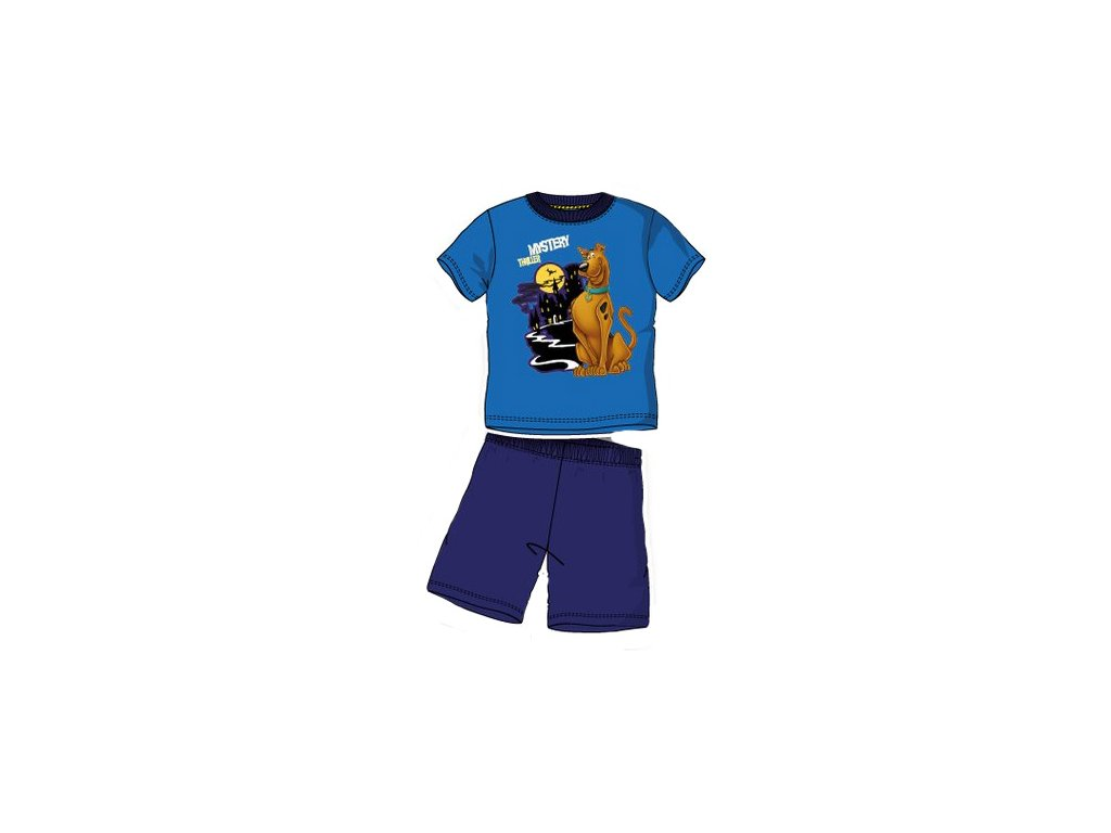 pyžamo chlapecké Scooby Doo