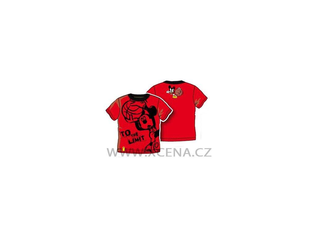 Mickey Mouse Disney tričko červené