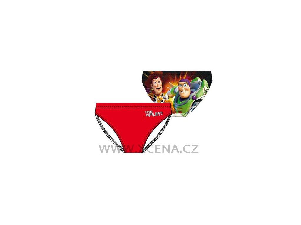 chlapecké plavky Toy Story červené