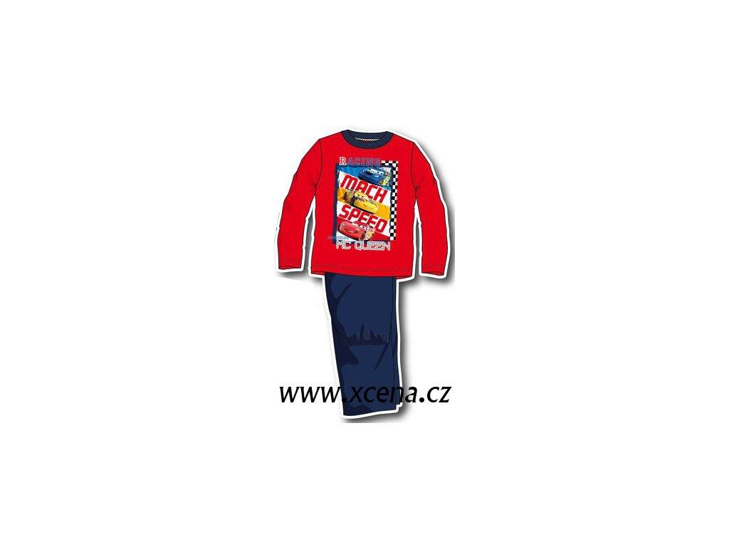 Cars pyžama červená