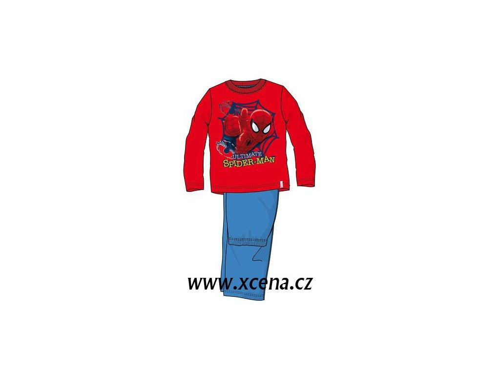 Spiderman pyžamo červené model A