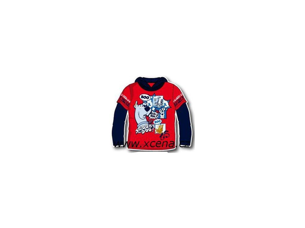 Scooby Doo tričko s kapucí