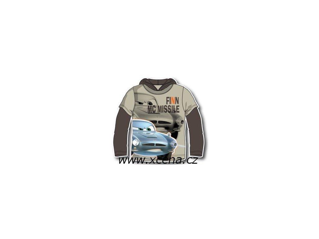 Cars Mcqueen tričko světle šedé typ A1