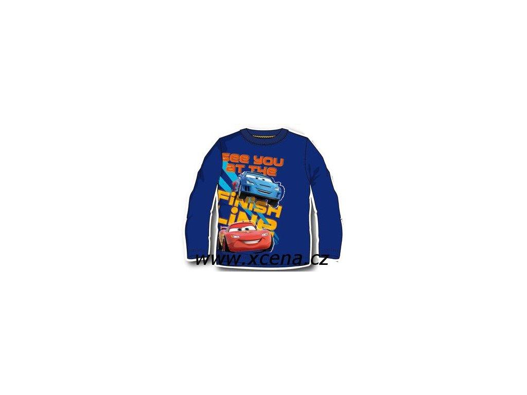 Tričko Cars modre