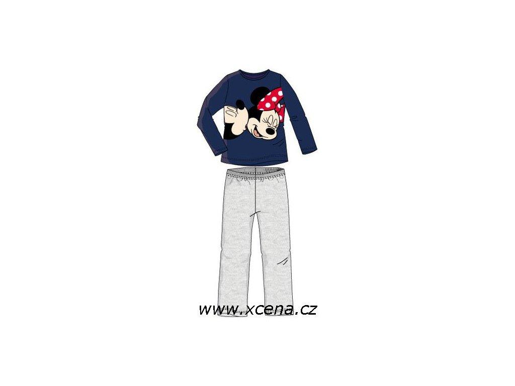 Minnie pyžama modré